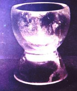 Crystal spinning bowl from Tomb 7